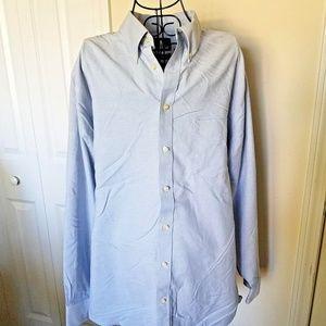 Stafford Button Down Shirt 16 1/2 34-35 Oxford